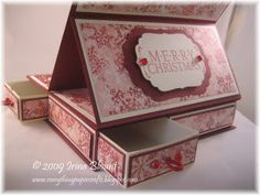 Everything Paper Crafts: Easel Top Matchbook Box