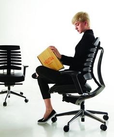 If you spend any amount of time stuck behind a desk, chances are you've put a lot of thought into what kind of chair you're sitting in, whether it's because you love the one you have or it's horribly uncomfortable and you need a new one. Luckily there are companies like Teknion that have your back, quite literally, with office chairs like their latest, the Responsive Back Technology (RBT) Task Chair.