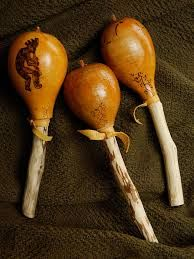 Image result for gourd rattles how to make