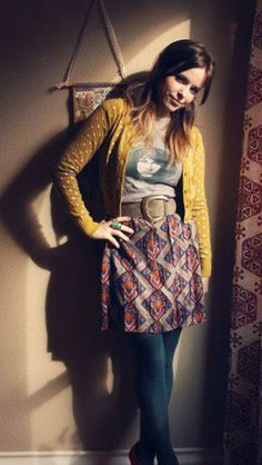 I spotted this outstanding outfit on the ModCloth Style Gallery. You can view, love, and share your own fashionable photos with the ModCloth community, too! Indie Fashion, Look Fashion, Winter Fashion, Vintage Fashion, Fashion Trends, Lolita Fashion, Retro Fashion, Retro Mode, Mode Vintage