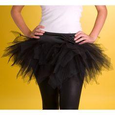 S013 - Black short tutu skirt - SALE