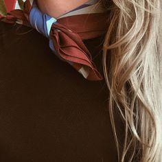 How to a wear scarf? Sunday Brunch Scarves www.sundaybrunch.pl