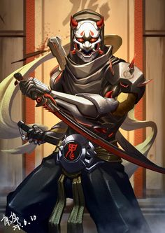 Overwatch Oni Genji