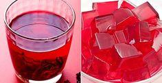 4 receitas de chá de hibisco: com gengibre, canela, cavalinha e até em forma de gelatina Jell O, Kombucha, Agar Agar Recetas, Gelatina Natural, Gelatina Light, Healthy Fruit Smoothies, Light Diet, Dukan Diet, Cooking Recipes