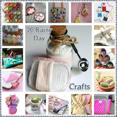 20 Rainy Day #Crafts that will inspire you!