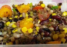 κύρια φωτογραφία συνταγής Σαλάτα με Όσπρια Cobb Salad, Food, Essen, Meals, Yemek, Eten
