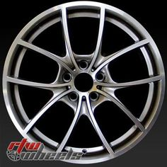 """BMW 550i oem wheels for sale 2011-2014. 20"""" Machined rims 71428 - http://www.rtwwheels.com/store/shop/20-bmw-550i-oem-wheels-for-sale-machined-71428/"""