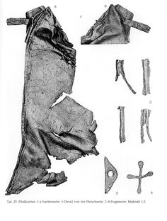This is a very nice arrow bag/hip quiver from a Viking find dating to 850 A.D.