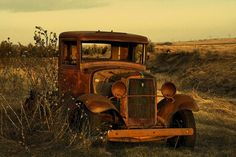 I am fascinated by old, rusty, abandoned cars I'm sure if someone wanted to they could make them badass again