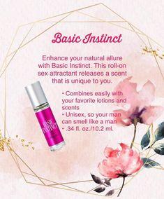 Pure Romance Party, Romance Tips, Pure Romance Catalog, Basic Instinct 1, Pheromone Perfume, Pure Romance Consultant, Guys Be Like, Beauty Care, Beauty Stuff