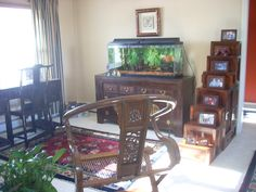 ...add a Chinese desk and sideboard to the mix.