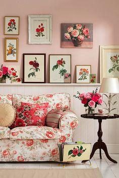 pretty rosy pink room