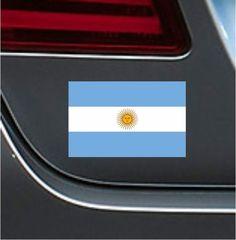 Argentina Flag 4  Vinyl Decal Bumper Sticker Soccer Football Sport Car Macbook
