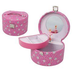 Rosa smykkeskrin til barn - ZenDesign.no