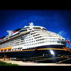 "The ""Disney Dream"" cruise ship"