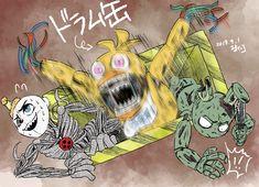 Five Nights At Freddy's, Freddy S, Anime Fnaf, Kawaii Anime, Creepy Games, Fnaf Wallpapers, William Afton, Fnaf Characters, Fnaf Drawings