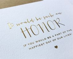 ideas to ask bridesmaids | Free Download Idea To Ask Someone Be Your Bridesmaid Or Maid Of Honor ...