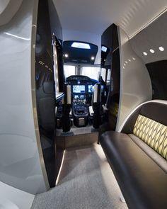 Latitude Cabin Interior - Cessna Citation Business Jet