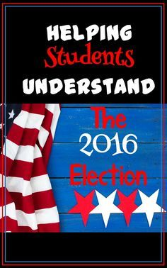 This year looks to be a real doozy of an election! Get great ideas to help students understand the importance of elections, and tips on how to help students discuss the election with others. Includes great links and two freebies!
