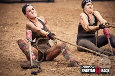 Our women are STRONG!   #SpartanChicked #SpartanRace #Motivation #Inspiration #Fitness #GetFit #Fun www.thespartancruise.com