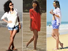 With the mercury hitting an all time high, planning or dreaming of a relaxed beach getaway is all that's keeping us sane. From the seaside to your community pool, wherever your travels take you this summer, we have got you covered with ultimate sunny-style looks that are guaranteed to transform you into bonafide beach babe.Don't Miss! 10 Ways to Dress Up a White Tank Top