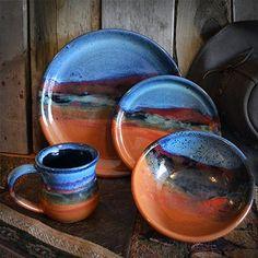 Native American Pattern Dinnerware | StonewareArtifacts.com ...
