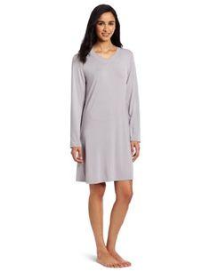 Women's Clothing Humble Black & White Stripe Short Sleeve Sleepshirt Henley Karen Neuburger Large Sleepwear & Robes