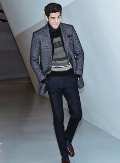Kim Woo Bin's 2nd Batch Of F/W 2015 Ads For SIEG FAHRENHEIT | Couch Kimchi