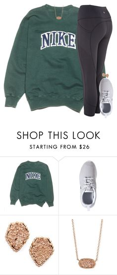 """""""look @ images for (three of my) fav songs!!"""" by elizabethannee ❤ liked on Polyvore featuring NIKE and Kendra Scott"""