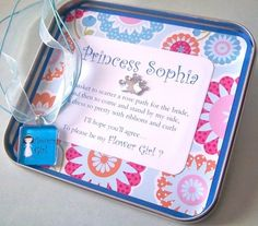 cute gift for a flower girl                                              Great Gifts for your Flower Girl