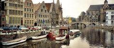 Crucero por los canales de Gante – Bélgica