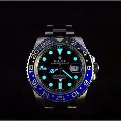 "Rolex GMT Master II ""Batman"""