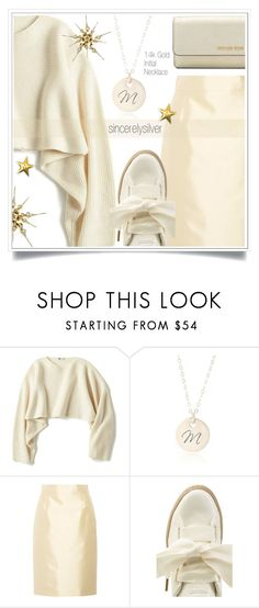 """SINCERELYSILVER contest"" by ewa-naukowicz-wojcik ❤ liked on Polyvore featuring Uniqlo, Prada, Puma, Michael Kors and sincerelysilver"