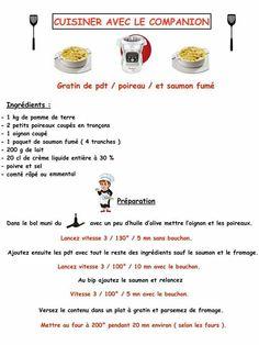 Gratin pdt/poireaux/saumon fume ou jambon