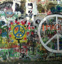 Graffiti wall Prague/Praha