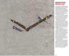 Dezeen Book of Ideas: Sweeper Clock by Maarten Baas