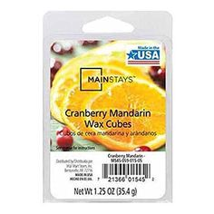 Home Fragrance Wax Cranberry Mandarin Wax Cubes by Mainstays -- Details can be found by clicking on the image.
