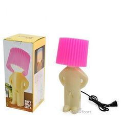 For all the naughty ones out there, the Naughty Boy Lamp !!