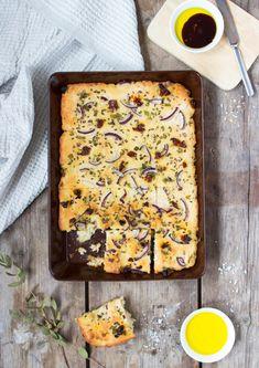 Gluteeniton focaccia Quiche, Bread, Breakfast, Food, Morning Coffee, Brot, Essen, Quiches, Baking
