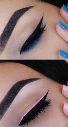 New Makeup Tutorial Eyeliner Wings Make Up 55 Ideas - - New Makeup Tutorial Eyeliner Wings Make Up 55 Ideas Makeup. New Makeup Tutorial Eyeliner Wings Make Up 55 Ideas Edgy Makeup, Makeup Eye Looks, Eye Makeup Art, Dramatic Makeup, Cute Makeup, Makeup Drawing, Awesome Makeup, Gorgeous Makeup, Makeup Wings