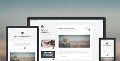 Future Imperfect: Free An excellent One Page Blogging HTML5 Website Template