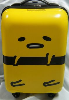 """2014 New 18"""" Gudetama Travel Luggage ABS Bag Suitcase Trunk Carry On Board"""