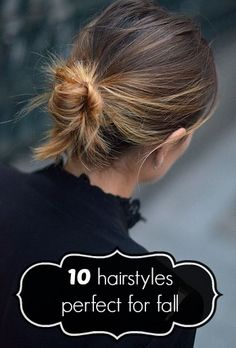 10 fall hairstyles