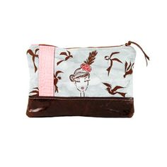 Birds Clutch Large Gray now featured on Fab.