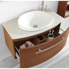Floating Bathroom Vanities contemporary bathroom vanities and sink consoles Narrow Bathroom Vanities, Bathroom Sink Units, Next Bathroom, Single Sink Bathroom Vanity, Vanity Sink, Bathroom Ideas, Bathrooms, Sinks, Modern Bathroom