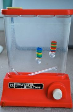 Water Toss....back when life was simple.  Who remembers this?