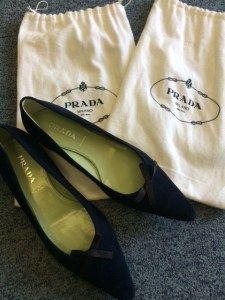 Prada loafers... New! Clothes Line, Chanel Ballet Flats, Prada, Loafers, Stuff To Buy, Ebay, Shoes, Fashion, Moda