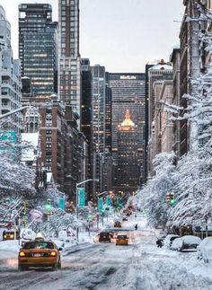 Winter NY..