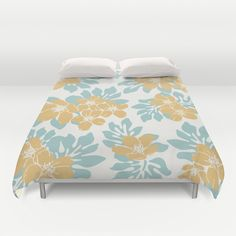 Floral Duvet Cover by Brandy Coleman Ford
