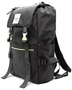 Kjarakär Backpack Flap Front With Drawstring Backpacks for Women and Men Great Bookbag for College